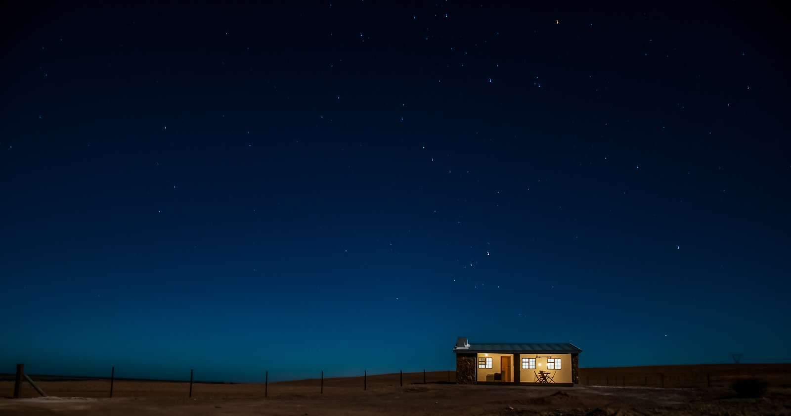 Enkelvlei Guestfarm in Hopefield Accommodation Night Shot
