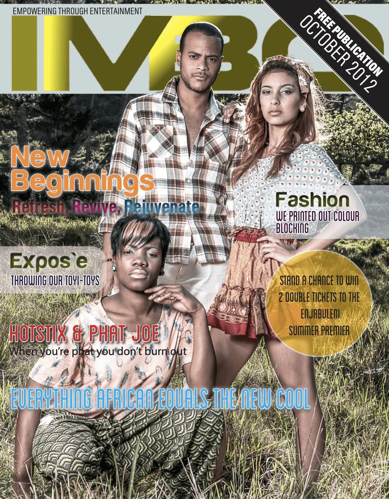 Imbo Magazine Cover