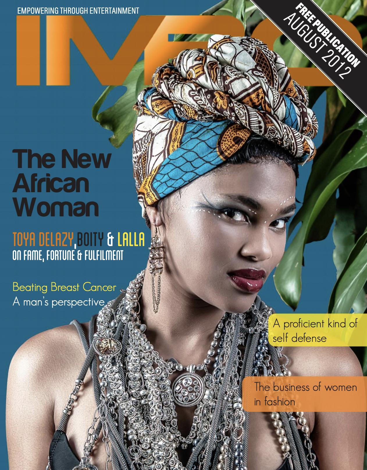 Imbo Magazine Cover Page