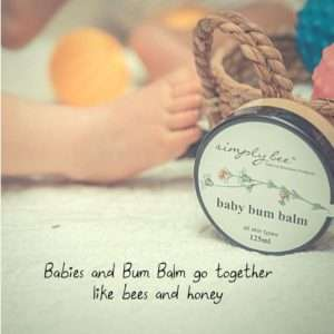 babies and bum balm go together
