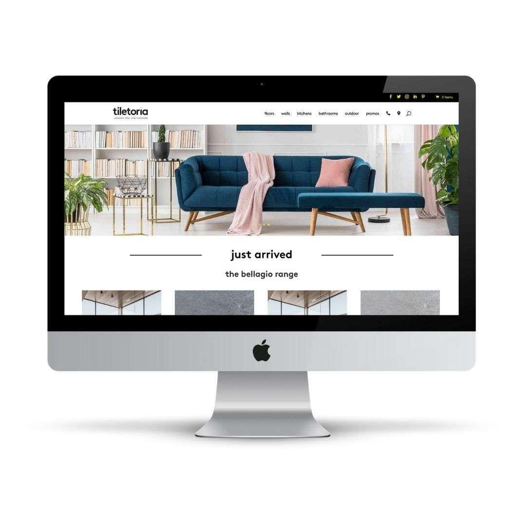 The Tiletoria website projecgt