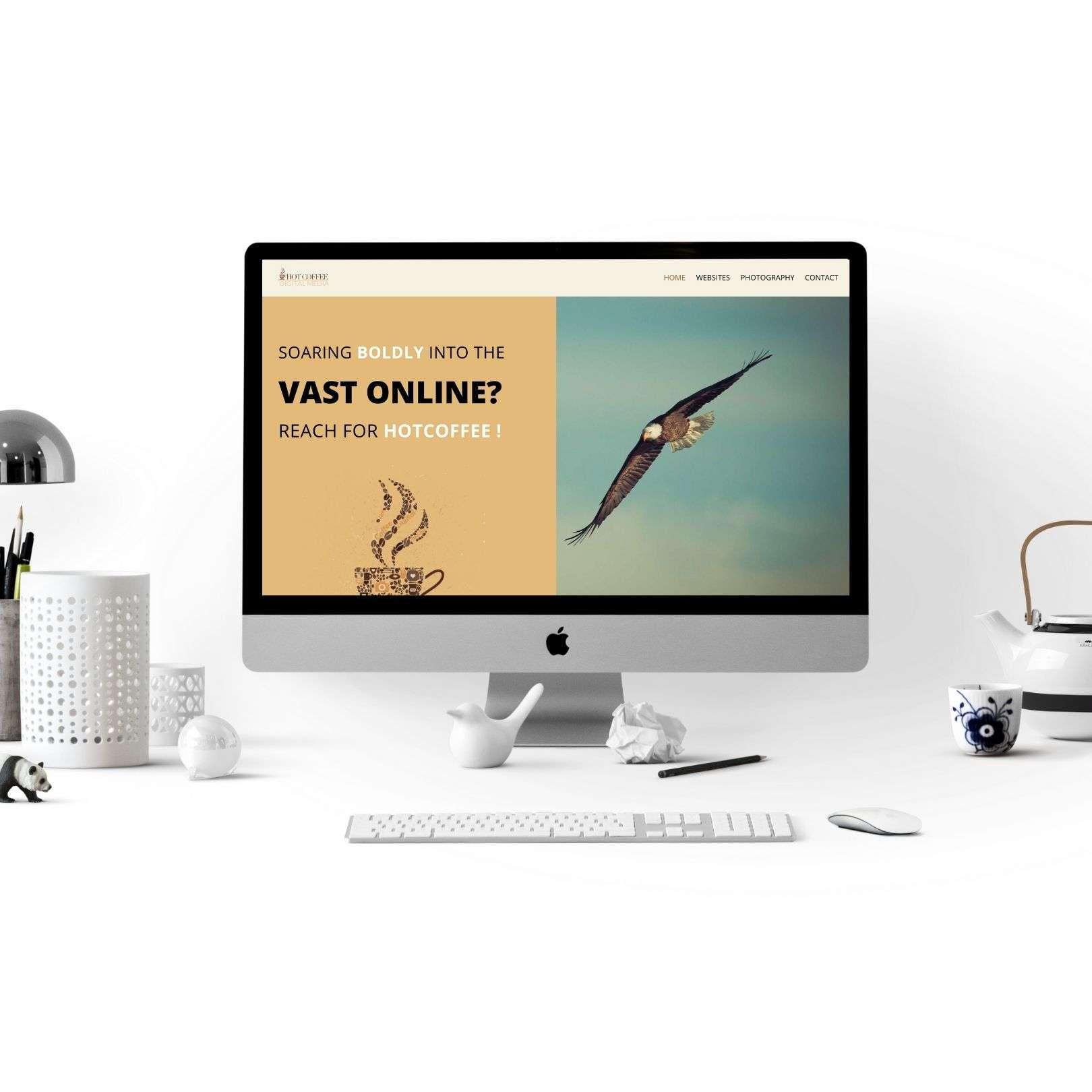 hotcoffeemedia website copywriting