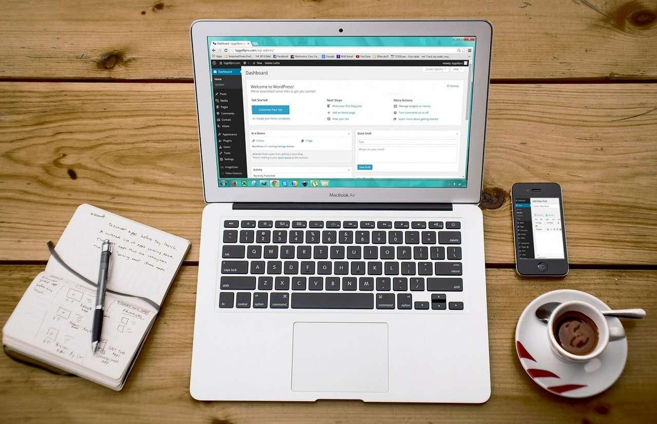 hotcoffeemedia website design